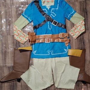 Link Breath of the Wild Deluxe Costume Lg 10-12